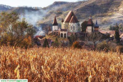 chiesa fortificaa di biertan in romania