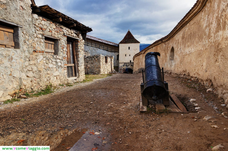 ingresso della cittadella di rasnov