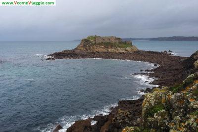 Fort d'Ilette nella penisola di Kermorvan (Francia)