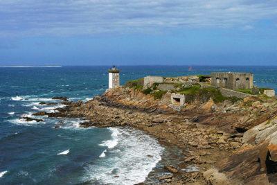 Il Faro ed il Forte di Kermorvan, presso Le Conquet