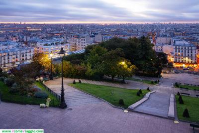 Montmartre: uno dei migliori punti panoramici di Parigi