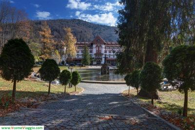 Parco Dimitrie Ghica a Sinaia