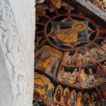 affreschi nel monastero di Sinaia