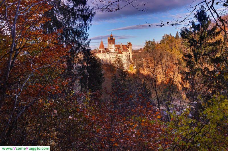 foto del castello di bran