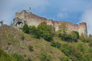 """rovine della fortezza di Poenari (il """"vero"""" castello di Dracula)"""