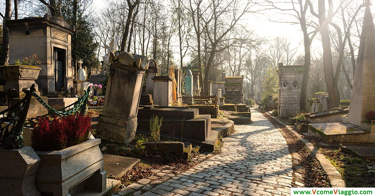 cimitero di pere lachaise a parigi