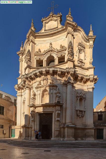 Chiesa di San Matteo, una di quelle da vedere assolutamente a Lecce