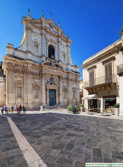 La Chiesa di Sant'Irene, una di quella da vedere assolutamente a Lecce