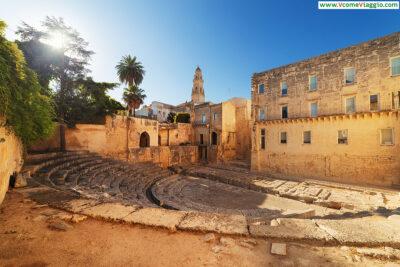 Il Teatro Romano, una delle migliori cose da vedere a Lecce