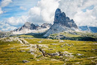 panorama dalla cima del monte piana