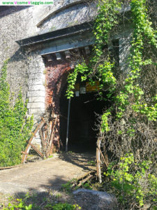 ingresso del forte cavour a palmaria