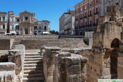 L'anfiteatro romano di Lecce, su piazza Sant'Oronzo