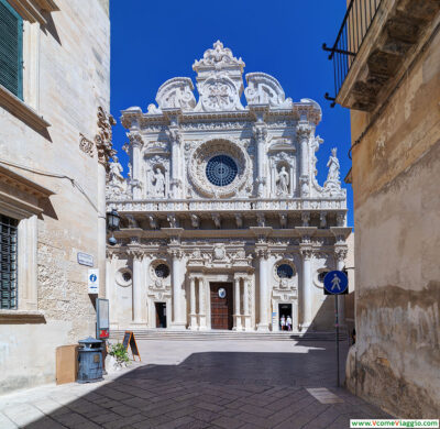 Basilica di Santa Croce a Lecce, città nei dintorni di Bari