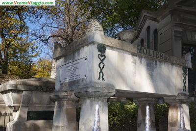 tombe di moliere e di la fontaine