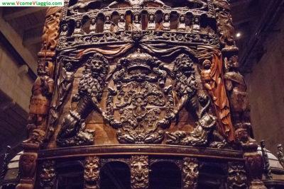 dettagli sculture sul Vasa